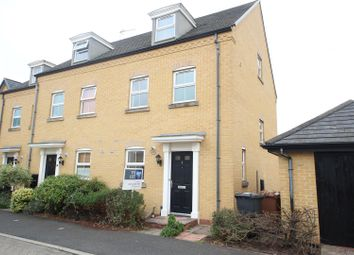 Thumbnail 3 bed end terrace house to rent in Sprigs Road, Hampton Hargate, Peterborough