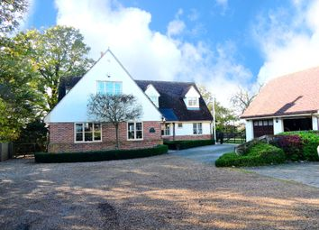 Thumbnail 5 bed detached house for sale in Bannister Green, Felsted
