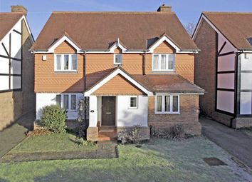 Thumbnail 4 bed detached house for sale in Greenfield Drive, Bromley