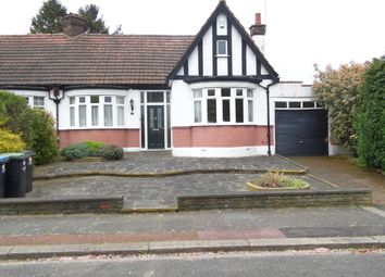 Thumbnail 3 bed bungalow for sale in Crossway, Bush Hill Park