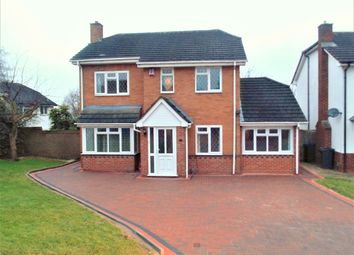 Thumbnail 4 bed detached house to rent in Halfway Close, Great Barr