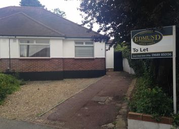 Thumbnail 3 bedroom semi-detached bungalow to rent in St Margarets Close, Off Charterhouse Road, Orpington