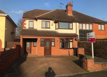 Thumbnail 4 bed semi-detached house for sale in Sion Avenue, Kidderminster