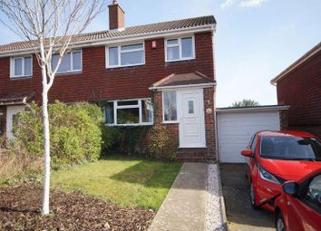 Thumbnail 3 bed semi-detached house for sale in Nyewood Avenue, Portchester, Fareham