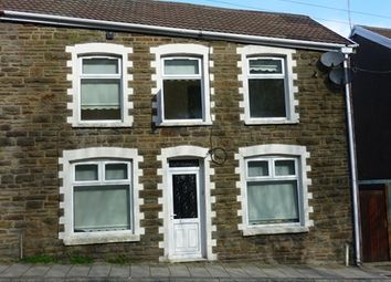 Thumbnail 3 bed terraced house to rent in Gloucester Buildings, Pantygog, Bridgend