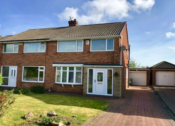 Thumbnail 3 bedroom semi-detached house for sale in Yearby Close, Acklam, Middlesbrough