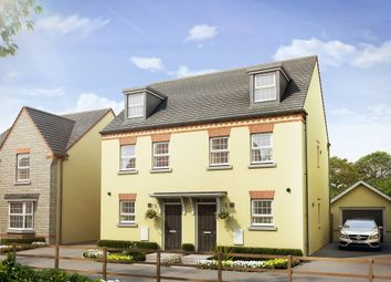 "Thumbnail 3 bedroom semi-detached house for sale in ""Kirkwood"" at Tiverton Road, Cullompton"