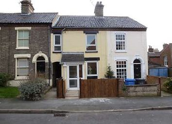 Thumbnail 3 bedroom terraced house to rent in Swansea Road, Norwich