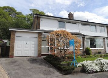 Thumbnail 3 bedroom semi-detached house to rent in Ridge Crescent, Marple, Stockport