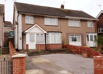 Thumbnail 3 bed semi-detached house for sale in Ffordd-Yr-Eglwys, North Cornelly