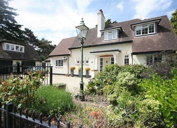 Thumbnail 4 bedroom detached house for sale in De Mauley Road, Canford Cliffs, Poole, Dorset