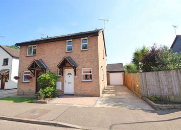 Thumbnail 2 bed semi-detached house to rent in Buttermere, Great Notley, Braintree, Essex