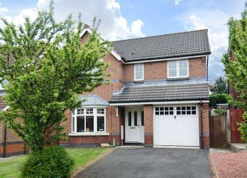 Thumbnail 4 bedroom detached house for sale in Chasewater Way, Norton Canes, Cannock