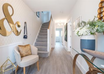 Thumbnail 4 bedroom town house for sale in St Modwen Homes, Egstow Park, Off Derby Road, Clay Cross, Chesterfield