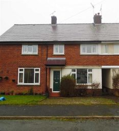 Thumbnail 3 bed terraced house to rent in Tan Yr Hafod, Gwernaffield, Flintshire
