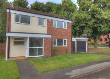 Thumbnail 4 bed detached house for sale in Rees Drive, Wombourne, Wolverhampton