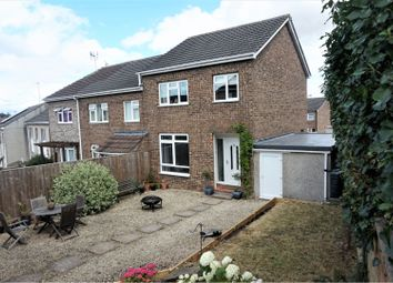 Thumbnail 3 bed semi-detached house for sale in Ashford Way, Kingswood