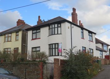 Thumbnail 3 bed detached house for sale in Wentloog Road, Rumney, Cardiff