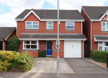 Thumbnail 4 bed detached house to rent in Dickens Drive, Stamford