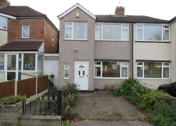 Thumbnail 3 bed semi-detached house for sale in Goodway Road, Great Barr, Birmingham