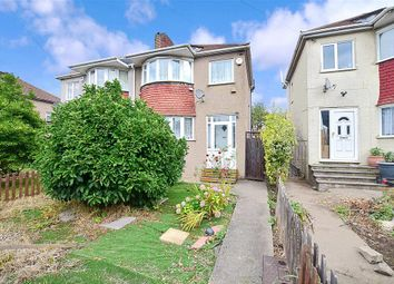 Thumbnail 3 bed semi-detached house for sale in East Rochester Way, Sidcup, Kent