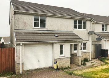 Thumbnail 4 bed property to rent in Hillside Meadows, Foxhole, St. Austell