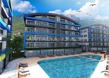 Thumbnail 1 bed apartment for sale in Oba, Alanya, Antalya Province, Mediterranean, Turkey