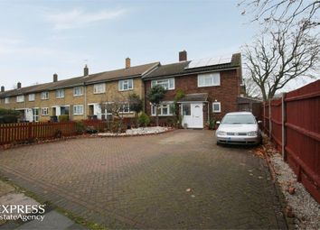 Thumbnail 4 bed end terrace house for sale in Popple Way, Stevenage, Hertfordshire