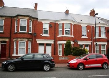 Thumbnail 3 bedroom flat to rent in Simonside Terrace, Heaton, Newcastle Upon Tyne