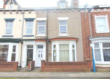 Thumbnail 4 bed terraced house for sale in Alderson Street, Hartlepool