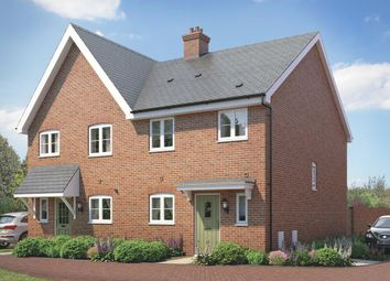 Thumbnail 3 bedroom semi-detached house for sale in The Ashton At St Michael's Hurst, Barker Close, Bishop'S Stortford, Hertfordshire