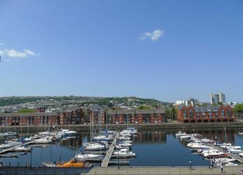 Thumbnail 2 bed flat for sale in Abbotsford House, Marina, Swansea