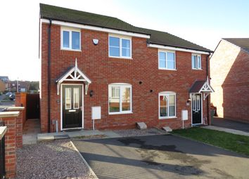Thumbnail 3 bedroom semi-detached house for sale in Hebden Drive, Hamilton, Leicester