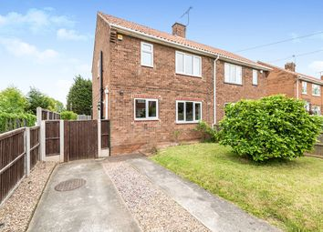 Thumbnail 2 bed semi-detached house for sale in Sycamore Road, Carlton-In-Lindrick, Worksop