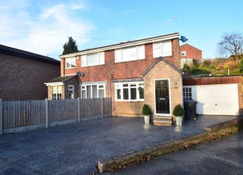 3 Bedrooms Semi-detached house for sale in Bluebank View, New Whittington, Chesterfield S43