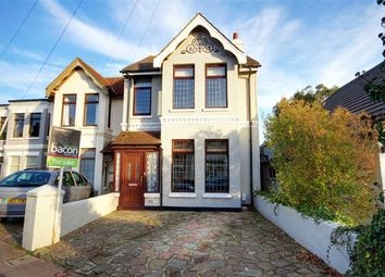 Thumbnail 3 bed semi-detached house for sale in Westcourt Road, Broadwater, Worthing, West Sussex