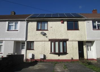 Thumbnail 2 bedroom terraced house for sale in Penderry Road, Penlan, Swansea, City And County Of Swansea.
