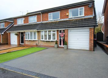 Thumbnail 3 bed semi-detached house for sale in Maplefield Drive, Worsley, Manchester