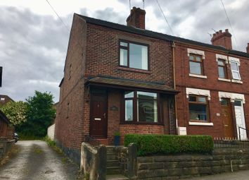 Thumbnail 2 bed end terrace house to rent in Congleton Road, Biddulph, Stoke-On-Trent