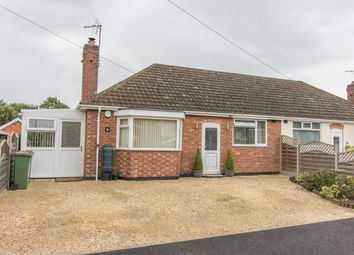 Thumbnail 2 bed semi-detached bungalow for sale in Hillsborough Crescent, Leicester