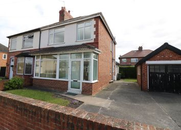 Thumbnail 3 bed semi-detached house for sale in Fairfield Avenue, Whitby, Ellesmere Port