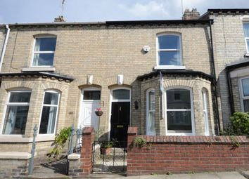 Thumbnail 3 bed terraced house for sale in Russell Street, York