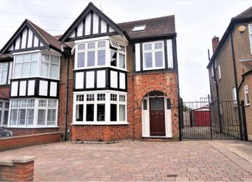 Thumbnail 4 bed semi-detached house for sale in Lambourne Gardens, Enfield