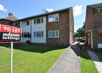 Thumbnail 2 bedroom maisonette to rent in Tessall Lane, Northfield, Birmingham