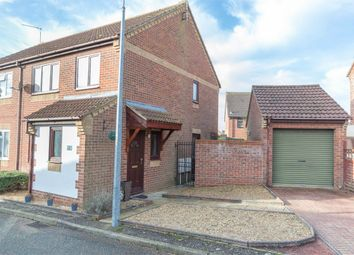 Thumbnail 3 bedroom semi-detached house for sale in Paddock Close, Fakenham