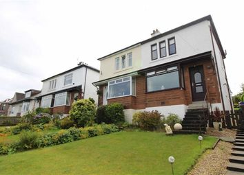 Thumbnail 2 bed semi-detached house for sale in Reservoir Road, Gourock, Renfrewshire