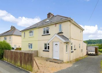 Thumbnail 4 bed semi-detached house for sale in Stone Barton Road, Plymouth, Devon