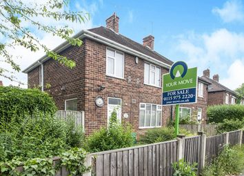 Thumbnail 3 bed semi-detached house for sale in Robinsons Hill, Bulwell, Nottingham