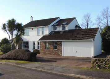 Thumbnail 4 bed detached house for sale in Kilhallon Woodlands, Par