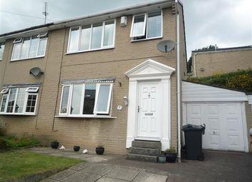 Thumbnail 3 bedroom semi-detached house to rent in Longcroft Street, Golcar, Huddersfield